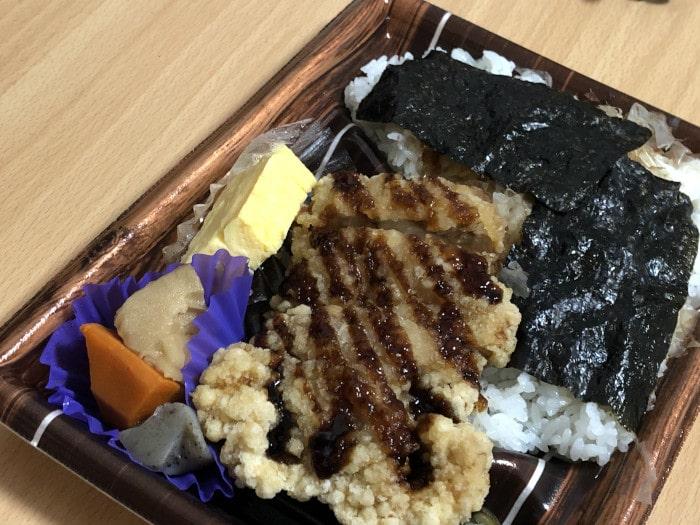 のりチキン竜田弁当