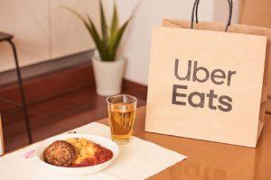 Uber Eatsで注文